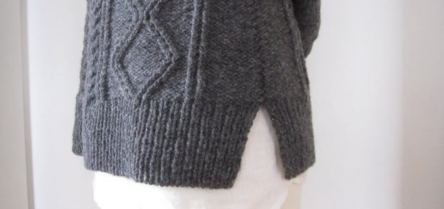 Cabled Sweater Crosby by Brooklyn Tweed