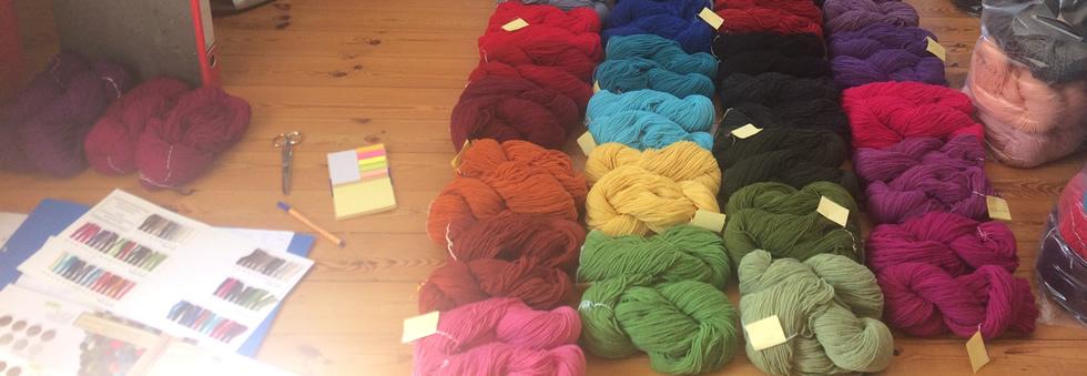 Wendelstein Schafwolle Farben