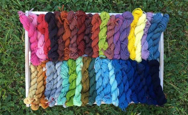 plant-dyed bavarian new wool